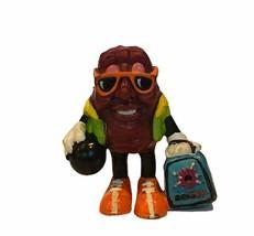California Raisin figure applause calrab TM anthropomorphic vtg toy bowling ball - $17.37