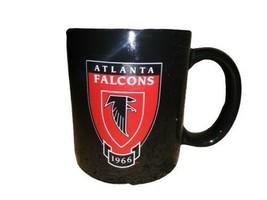 Atlanta Falcons Ceramic Coffee Mug NFL Football Red/Black Est. 1966 - $9.89