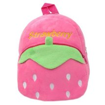 Lovely Strawberry Baby Mini Backpack Infant Lunch Bag Toddler Shoulder 1-4Y