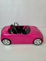Barbie Glam 2 Seat Convertible Pink Sports Car 2009 Mattel R4205 - $14.99