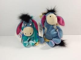 "Disney Store Winnie the Pooh Eeyore Cupid & Valentine 9"" Bean Bag Plush ... - $9.49"