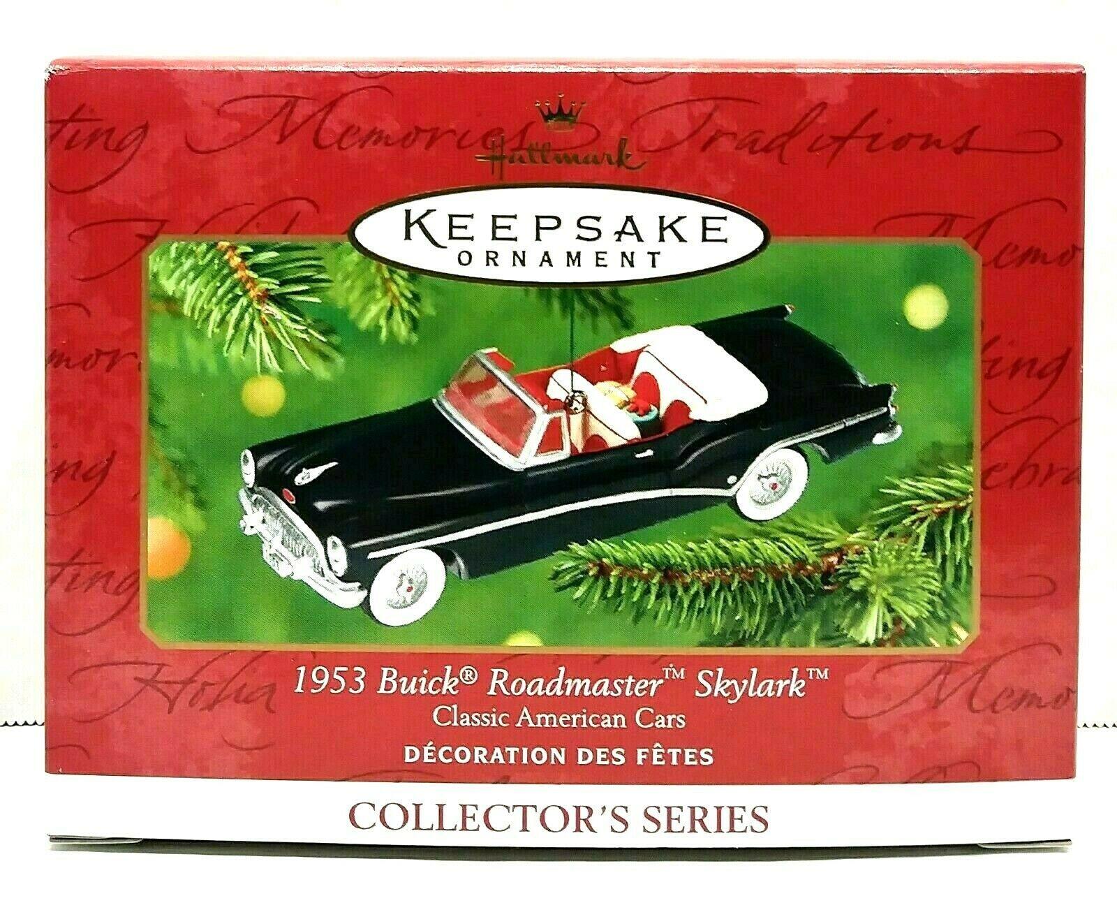 2001 Hallmark Keepsake 1953 Buick Roadmaster Skylark Ornament QX6872 - $15.00