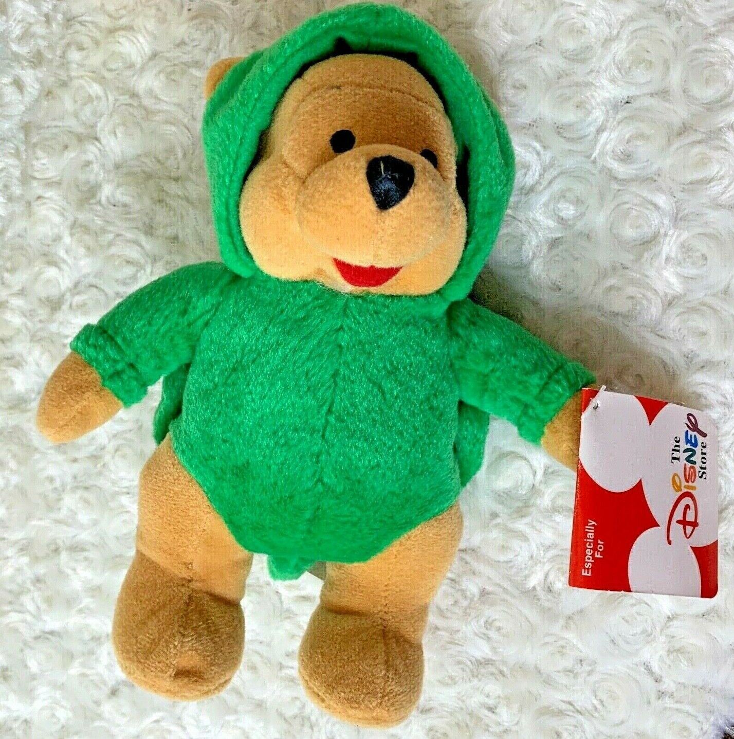 Primary image for Disney Store Winnie The Pooh Dressed as Turtle New Plush Bean Bag Toy Stuffed