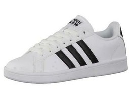 Adidas Cloudfoam Advantage White Men's Sneakers Athletic Shoes Casual AW... - $35.99