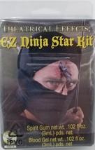EZ Ninja Star Kit Head Wound Dress Up Halloween Costume Makeup Latex Prosthetic - $4.94