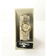Casio Diver's Watch LD-902 Two Tone Unisex Vintage 1990's New - $155.99