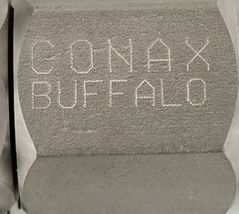 LOT OF 3 NEW CONAX BUFFALO 709047 LYOPHILIZER CONNECTORS 1/2'' IN ID 1'' IN. OD image 3