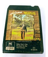 Ace Cannon Baby Don't Get Hooked On Me (8-Track Tape, M 92076) - $6.40