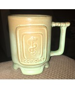 Very Rare Prairie Green Frankoma Osteopathic Medicine Mug West Palm Beac... - $222.75