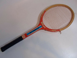 Wooden Tennis Rackets Vintage Racquets Wood Wilson Set Point Jr. b - $11.95