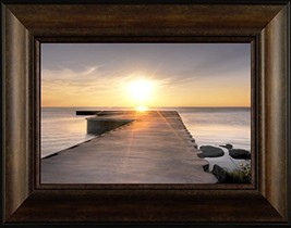Peaceful Pier By Todd Thunstedt 20x26 Northwoods State Park National Wil... - $69.00