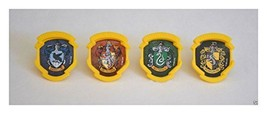 12 Harry Potter Hogwarts Houses Cup Cake Rings Topper Party Goody Favor ... - $5.92