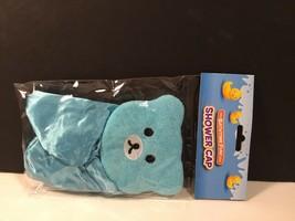 Bathtime Fun Bath Shower Cap NIP Blue Bear Childs - $5.69