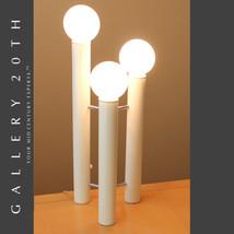 RARE! MID CENTURY MODERN TONY PAUL TOWER LAMP! VTG EAMES WHITE 60'S ATOM... - €1.760,88 EUR