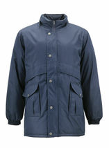 Men's Heavy Weight Winter Coat Removable Hood Puffer Parka Jacket w/ Defect  2XL image 3