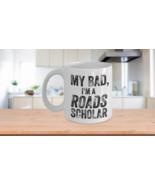 Roads Scholar Mug Funny Pun Rhodes Rhoads College Barrett Coffee Cup Cer... - $14.65+