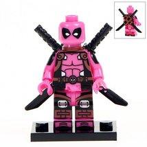 Pink Deadpool Super Hero Lego Minifigure Toys - $2.25