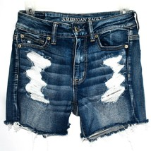 American Eagle Outfitters Ne(x)t Level Stretch X Distressed Jegging Shorts 4