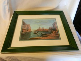 Venice by Michael J. Lavery Limited Edition Print Signed & Numbered Framed - $519.75