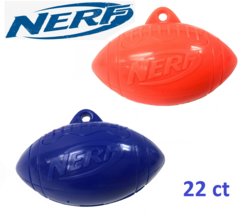 Nerf Football Shaped Containers With 22 Candy Inside by Hasbro 2019 - $9.49