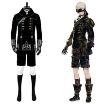 NieR:Automata 9S YoRHa No. 9 Type S Scanner Cosplay Costume Suit Top Coa... - $105.27+