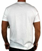 NEW LEVI'S MEN'S PREMIUM CLASSIC GRAPHIC COTTON T-SHIRT SHIRT TEE WHITE BANDANA image 4