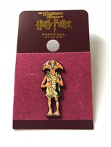 Universal Studios Harry Potter Dobby Enamel Pin New with Card - $12.93