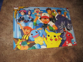 Rare Original Japanese Pokemon Catch 'em All Wall Poster # 1300 - $19.79