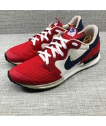 NIKE Air Berwuda Red White Blue Mens Retro Running Shoes Size 13 555305-601 - $59.39