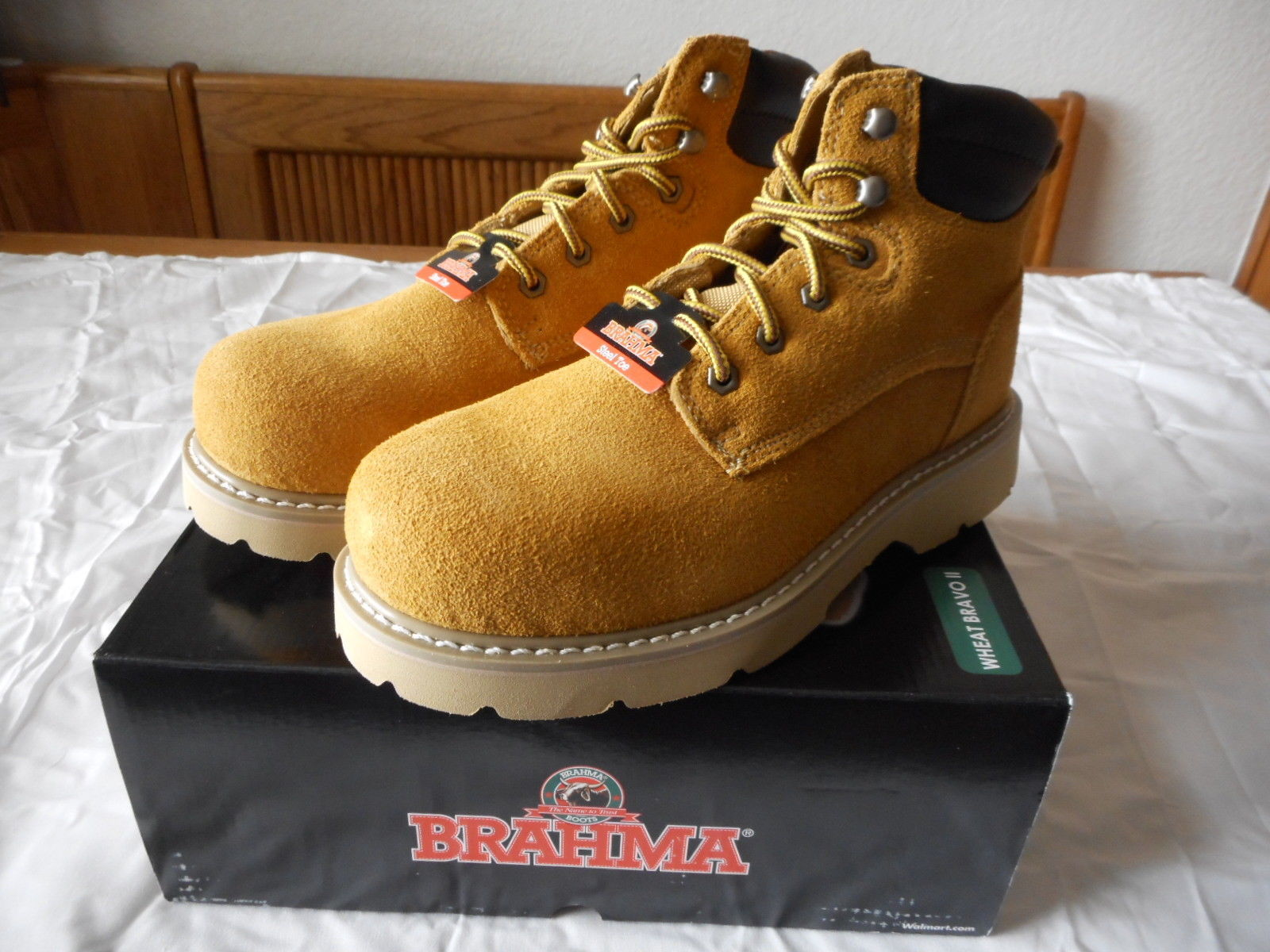 7ab01c3e332 Men's Brahma Steel Toe Leather Work Boots and 50 similar items