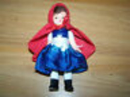 "Little Red Riding Hood Madame Alexander Mini Doll McDonalds Toy 2010 5"" - $9.00"