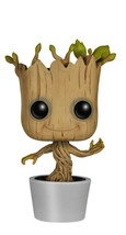 T-02 Toy Groot Funko POP! Marvel: Dancing Groot Bobble Action Figure FRE... - $19.90