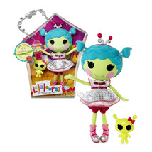"NEW HOT Lalaloopsy 12"" Tall Button Rag Doll Haley Galaxy with Pet ""Alien... - $77.99"