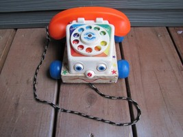 1961 Vintage Fisher Price Toys Chatter Telephone #747 - $8.59