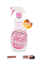 Moschino Fresh Couture Pink Women Edt 100ml Special Offer - $89.05