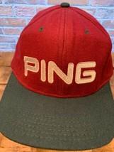 Ping Golf Burdeos Geen Ajustable Béisbol Adulto Gorra - $17.56