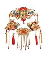 Chinese Ancient Clothing Wedding Bridal Tiara Headdress Beautiful Jewelr... - $23.77