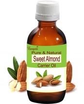 Sweet Almond Pure Natural Cold Pressed Oil 50 ml Prunus amygdalus by Bangota - $14.45