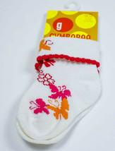 Gymboree Nwt Girls Socks 3-12 M Infant Shoe Sz 01-03 La Playa Butterfly Floral - $4.94