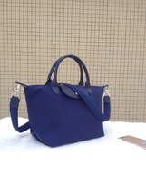 Longchamp Le Pliage Medium Navy Blue Handbag Neo Shoulder Strap 1512578556 - $84.99