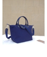 Longchamp Le Pliage Medium Navy Blue Handbag Neo Shoulder Strap 1512578556 - $79.99