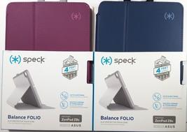 2-Original SPECK Balance Folio Marine Blue Case Cover for ASUS ZenPad Z8... - $10.84