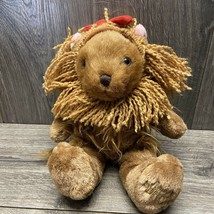 "The Wizard Of Oz The Cuddle Factory Plush 13"" Teddy Bear Cowardly Lion S... - $20.00"