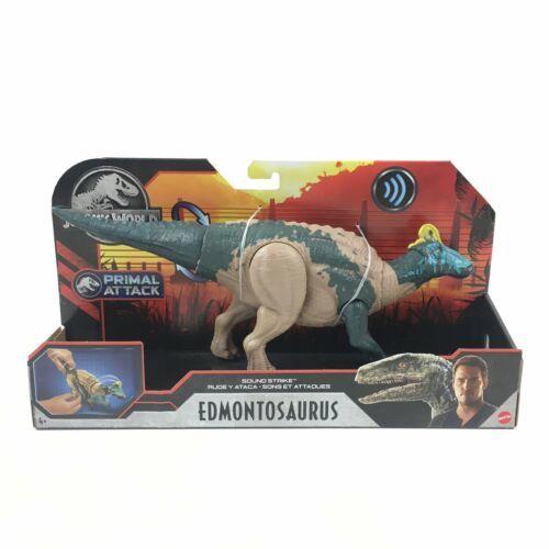 Jurassic World EDMONTOSAURUS Primal Attack Sound Strike IN HAND - $35.64