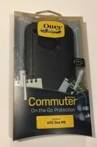 OtterBox Commuter Series Case for HTC One M9 Glacier Black NEW 100% Authentic - $12.86