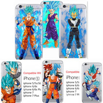 CARTOON Dragon Ball Z Super Saiyan God Silicone case for iphone X 8/6s/7... - $5.99