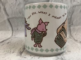 Walt Disney Company Winnie The Pooh You See What I M EAN T To Do Coffee Mug - $11.30