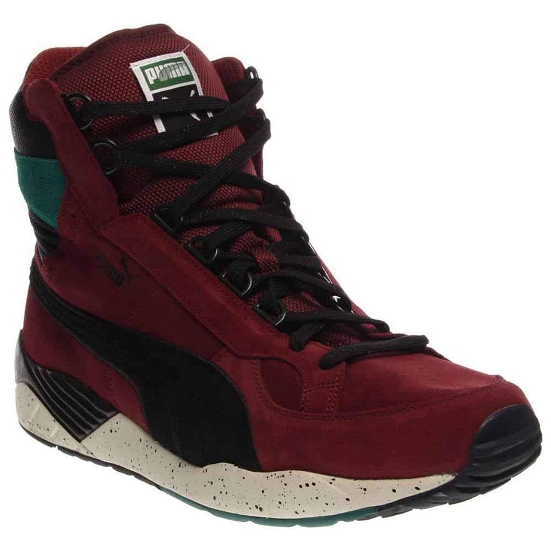pretty nice ee8a1 b67de PUMA 357028 Mens Trinomic XS 850 Mid Rugged Shoe, Zinfandel Black - 13