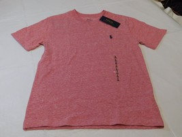 Polo Ralph Lauren Boys Youth Short Sleeve T Shirt S 8 Red Heather 644001... - $21.77