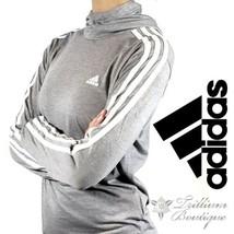 Adidas Jersey Hoodie Light Gray Large (NWT) - $48.51